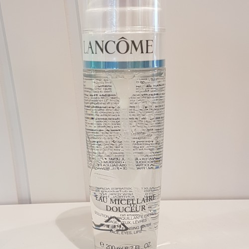 LancomeEauMicellaireDouceur.